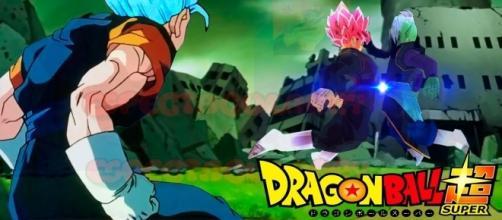 """Fusión de Black Goku y Zamasu """"Blackmasu"""""""
