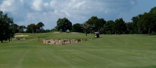 Hole No. 13 at Varadero Golf Club. - Photo by Ron Patey