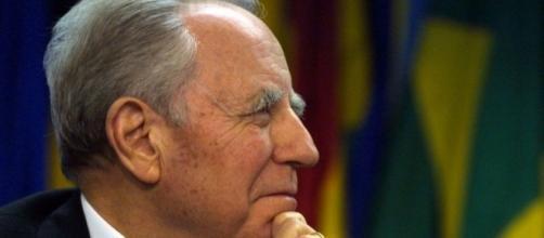 Il presidente Carlo Azeglio Ciampi