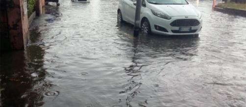 Roma si allaga ad ogni pioggia sostenuta. Qui a Settebagni, III Municipio