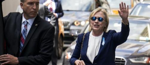 The Day - Clinton falls ill during 9/11 memorial service in New ... - theday.com