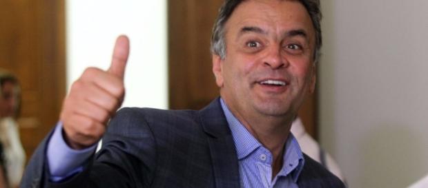 Aécio Neves afirmou que seu partido aguardará a decisão da Justiça.
