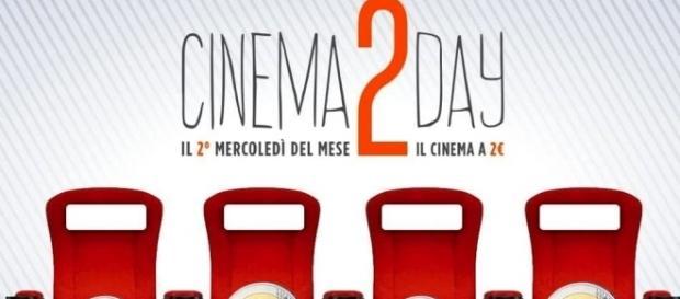 Cinema 2Day: cinema ogni secondo mercoledì del mese a 2 euro