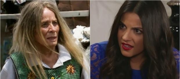 Dona Rita revelará verdade após pressentir sua morte.
