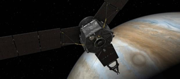 Juno Points Homeward (Artist's Concept) Image Credit:NASA/JPL-Caltech