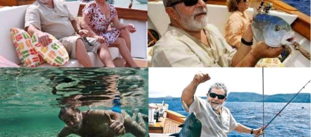 Lula e Dona Marisa - Imagem: Google