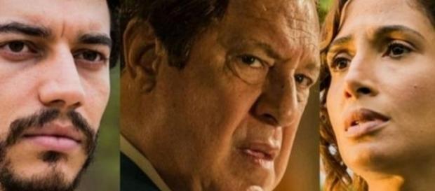 Martim desaparece e gera briga entre Afrânio e Tereza (Divulgação/Globo)