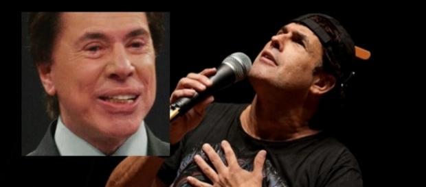 Sérgio Mallandro e Silvio Santos