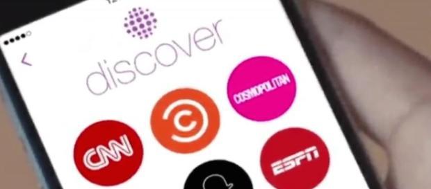 Snapchat lance Discover, un nouveau fil d'info au top pour les ... - airofmelty.fr