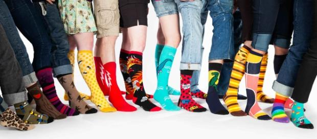 Sock It to Me is dedicated to creating fun and outrageous designs for socks and underwear. / Photo via Carrie Atkinson, Sock It to Me.