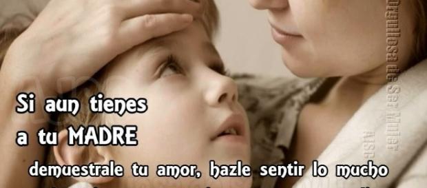 Una madre es el mayor tesoro que nos da la vida.