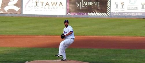 Austin Chrismon gets the start for Ottawa in Games 5. - Photo by Ron Patey