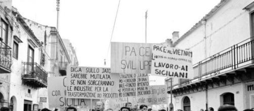 Marcia per la Sicilia Occidentale, 1967 - Toni Nicolini.