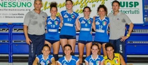 Rimini, finali di pallavolo UISP 2016 'Under 18' 2^ classificata Villafranca P.te - foto Sergio Battaglino.
