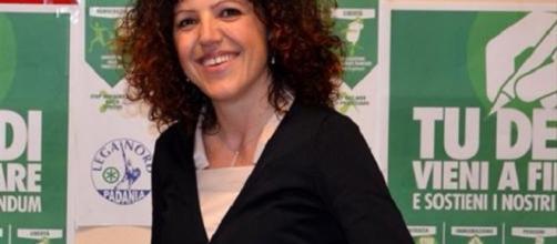 Tiziana Nisini, assessore leghista del Comune di Arezzo