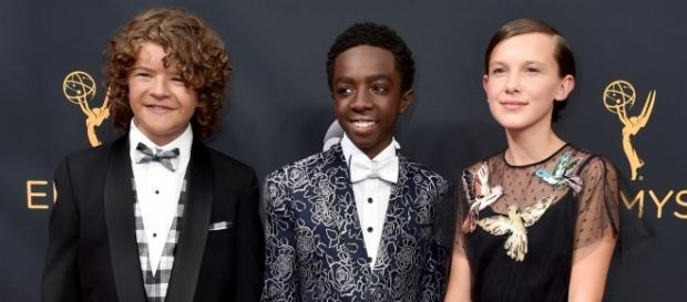 Da sinistra: Gaten, Caleb e Millie