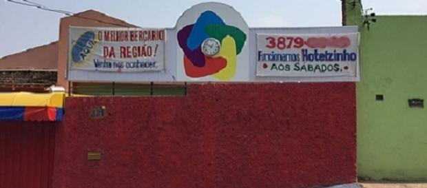 Escola onde duas crianças foram esfaqueadas em Minas Gerais
