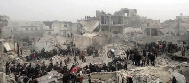 Guerra de exterminio desarrollada en Siria