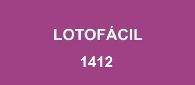 Resultado será divulgado nessa sexta-feira - Sorteio 1412 da Lotofácil