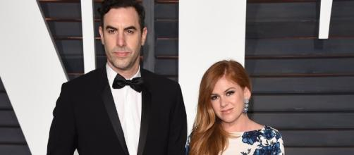 Isla Fisher and Sacha Baron Cohen dated each other--popsugar.com/celebrity/Isla-Fisher-Sacha-Baron-Cohen-Welcome-Son-37253315