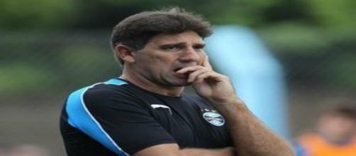 Renato Gaúcho, ex-técnico do Grêmio.