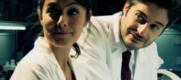 Alessandra Mastronardi e Lino Guanciale.