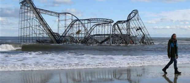 First up-close look at devastation in Seaside Heights, beloved ... - northjersey.com