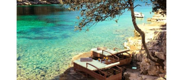 Little Green Bay hotel nouveau Croatie ile de Hvar | Vogue - vogue.fr