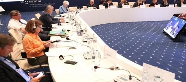 Reuniunea UE de la Bratislava. Sursa foto: MAE