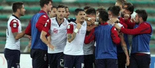 Cagliari, tre gol all'Atalanta e prima vittoria.