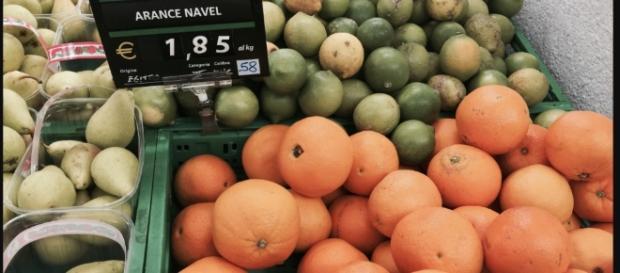 Arance sudafricane a 1,85 al chilo