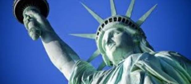 Bartholdi's Statue of Liberty (detail) youtube.com Creative Commons