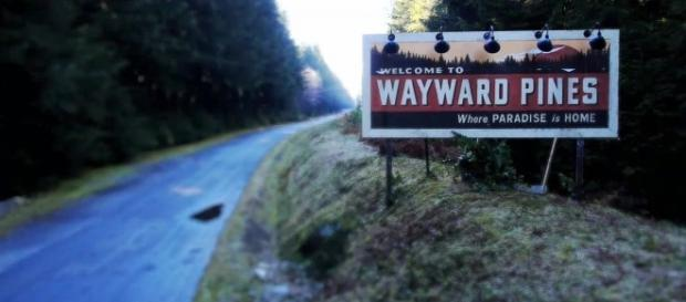 Benvenuti a Wayward Pines dove il Paradiso è a casa.