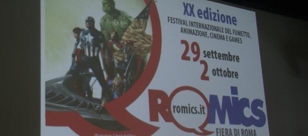 dal 29 settembre al 2 ottobre al via xx edizione del Romics