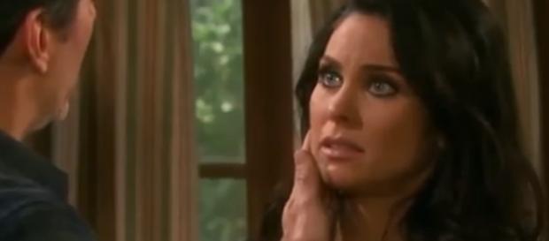 Deimos forces Chloe to get a paternity test on 'Days Of Our Lives' - Photo via Mirage3534/Photo Screencap via NBC/YouTube.com