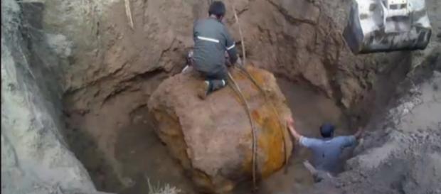 El peso de 30 toneladas sorprendió a los investigadores