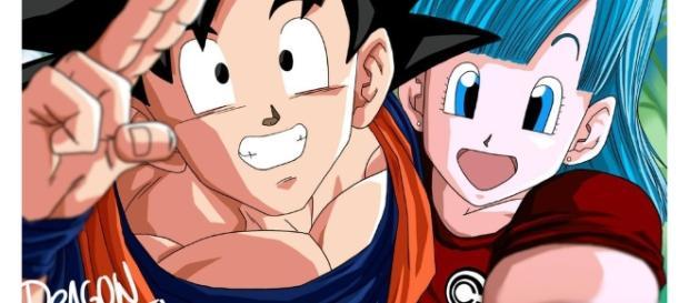 La historia comienza Bulma y Goku se encuentran por primera vez