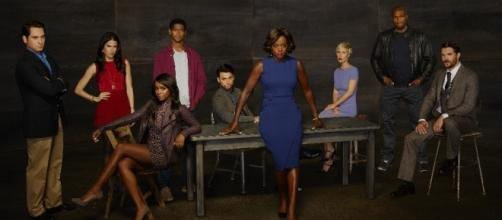 'How to Get Away with Murder' cast picture, via Wikipedia
