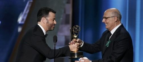 Jon Hamm thanks his ex as he FINALLY wins Best Actor at the Emmy ... - dailymail.co.uk