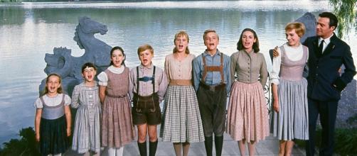 La familia Von Trapp de 'Sonrisas y lágrimas'