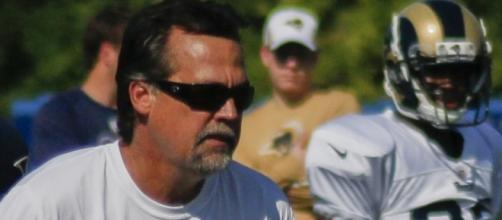 Rams coach Jeff Fisher in 2013, back in their days in St. Louis. Photo c/o Wikimedia Commons.