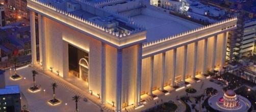Templo de Salomão (SP), sede da Igreja Universal do Reino de Deus.