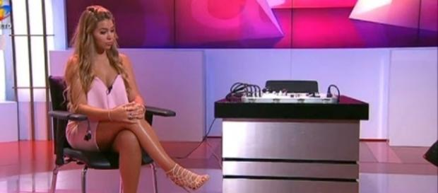 A jovem esteve na TVI, no programa da tarde.
