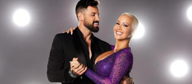 Amber Rose and Maksim Chmerkovskiy | 'Dancing With the Stars ... - usmagazine.com