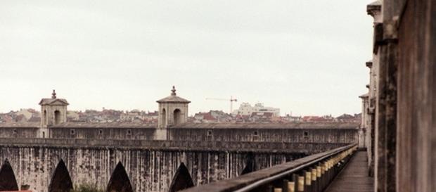 Aqueduto das Águas Livres, local de várias mortes.