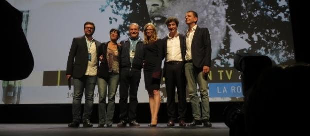 Jury de la FictionTV 2016 et Stéphane Strano, Président du Festival