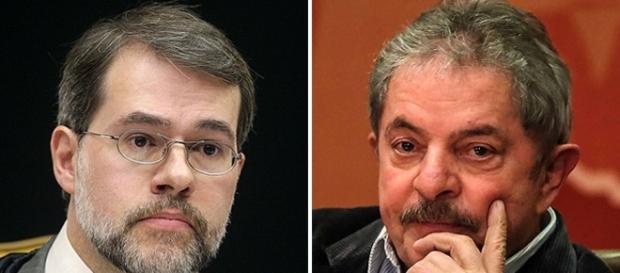 Ministro Dias Toffoli e ex-presidente Lula