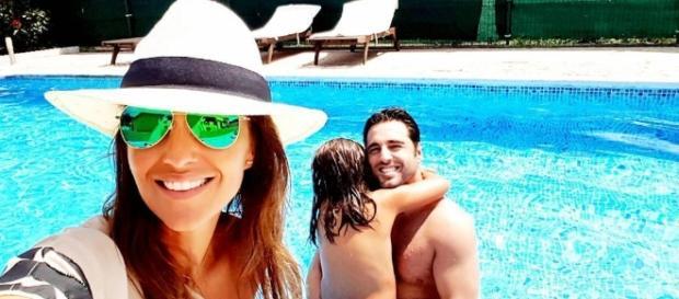 Paula Echevarría y David Bustamante con su hija de vacaciones /Instagram