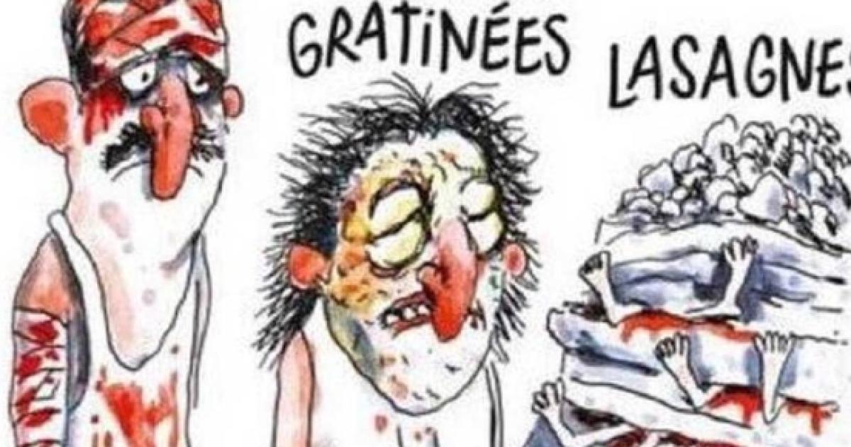 El Chiste De Charlie Hebdo Sobre El Terremoto En Italia No Gusta A