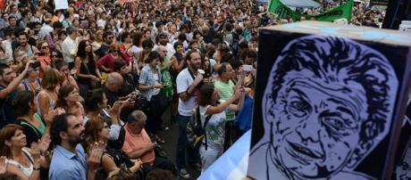 Macri criticó la Marcha Federal pese a que su imagen cae en picada